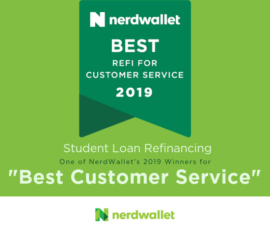 Nerd Wallet Best Customer Service Award