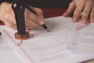 signing legislation