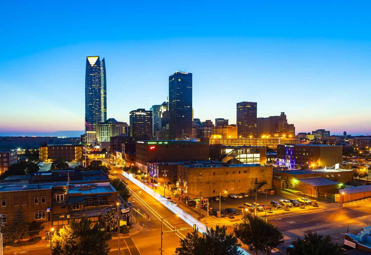 photo of Oklahoma City, one of the cities with the best job markets in the U.S.