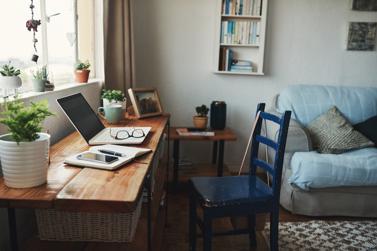 home office for work-from-home job