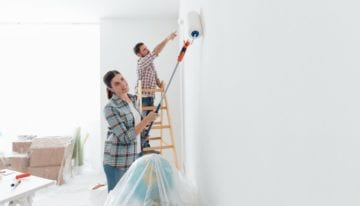 Take on a DIY project while working from home