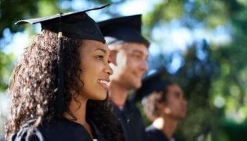 Grad student graduating with minimal student debt