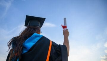 Graduate with degree planning to get an MBA